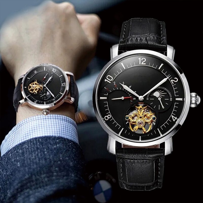 Simple style mechanical watch...