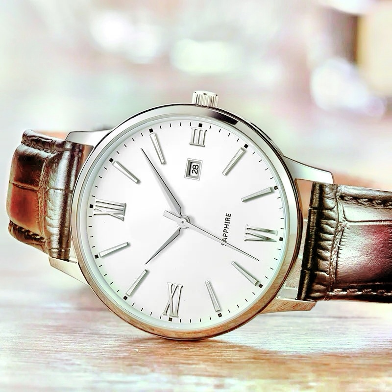 Simple style mechanical watch1