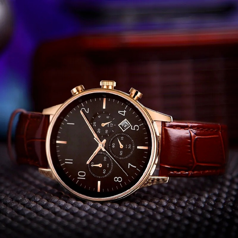 Simple style mechanical watch2