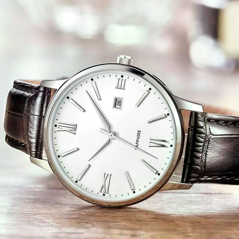 Simple style mechanical watch 4